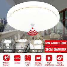 led ceiling light motion sensor pendent