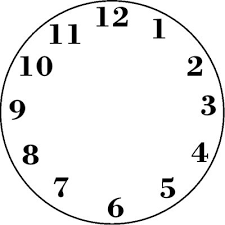 Clock Template Printable Shared By Aden Scalsys