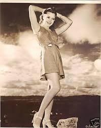 PRISCILLA LANE ,RARE ORIGINAL LEGGY PHOTO - 1940'S | #45576863