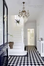 Victorian black and white tiles For home Pinterest White tiles