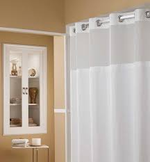 curtain hookless shower curtain