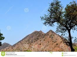 Barren Mountains Of Aravali Range Stock Photo 69098627 - Megapixl