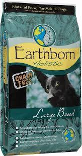 earthborn holistic large breed grain free dry dog food