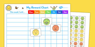 Teacher Reward Chart My Emoji Reward Chart Teacher Made