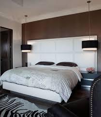 bedroom attic modern bedroom with white modern bed and modern bedside chandelier light fixtures master