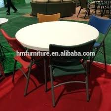 plastic banquet tables 6 person used plastic round folding table plastic banquet tables and chairs