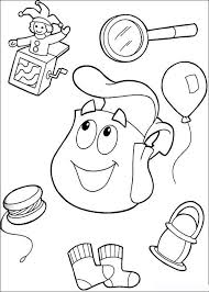 Small Picture Kids Under 7 Dora the Explorer Coloring Pages
