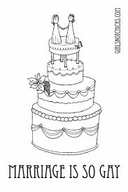 Marriage Is So Gay Coloring Page
