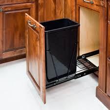 Kitchen Waste Bin Door Mounted Hidden Garbage Can Cabinet Best Home Furniture Decoration