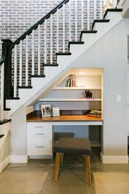 office under stairs. Fascinating Small Home Office Under Stairs Aria Plan Symphony Homes Interior Furniture: Large Size
