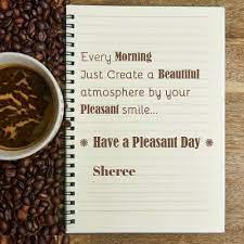 Sheree Good Morning Wish Greeting Card - January 2021
