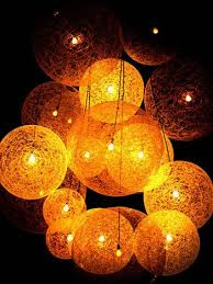 outdoor lighting balls. string ball lighting for the garden instructions included this great project outdoor balls