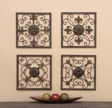 on 4 piece metal wall decor with cole grey 4 piece metal wall plaque d cor set reviews wayfair