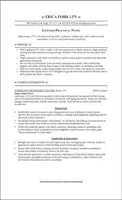 Sample Resume Of Lpn Nurse Resume Examples Resume Template