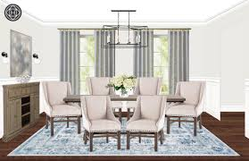 Ballard Designs Morgan Pendant Classic Dining Room Design By Havenly Interior Designer Michelle