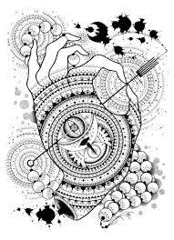 Light Hand лёгкая рука Drawing By Anton Tantsev Artmajeur