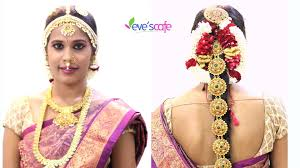 por south indian bridal makeup video bridal hairstyle with intended for south indian bridal hairstyle