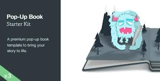Popup Book Templates Pop Up Book Starter Kit Free After Effects Templates Template
