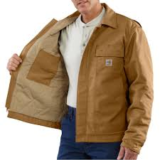 Carhartt Flame-Resistant Lanyard Access Jacket/Quilt Lined & List Price: $220.00 Adamdwight.com