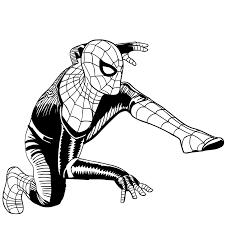 Disegno 2 Di Spider Man Far From Home Da Colorare