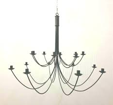 antique wrought iron candle chandelier black fashion vintage for amazing house remodel