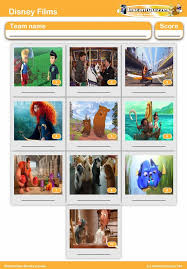 disney s mini picture quiz z2443