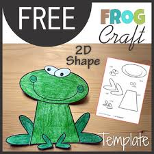 Animal Craft Frog Template Cut And Paste By Km Classroom Tpt