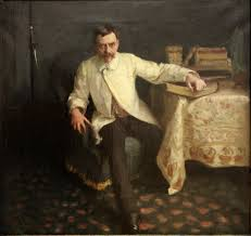 portrait of arsène vigeant by john singer sargent 1885 musée de metz vigeant wrote a book on the history of fencing hence the sword in the background