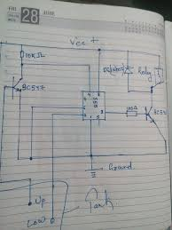 automatic water control auto shut down water pump 8 steps circuit diagram