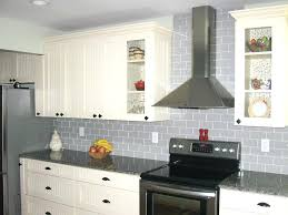 Kitchen With Glass Tile Backsplash Gorgeous Grey Subway Tile Backsplash Kitchen Kitchen Backslash Frosted Glass