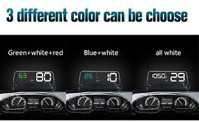 2019 GEYIREN <b>T900</b> 3.6 Screen Auto GPS Car <b>HUD</b> GPS <b>Head</b> Up ...