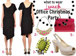 What to wear to the office Christmas party: lunch