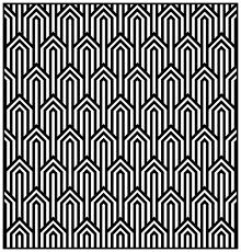 Art Patterns Impressive Geometric Patterns Art Deco 48 Art Deco Adult Coloring Pages