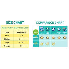 Pampers Active Baby L Size 18 Count