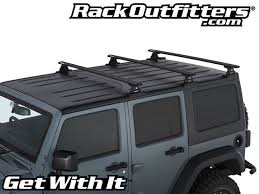 off road unlimited roof racks rhino rack vortex rlt600 3 bar backbone black roof rack for jeep