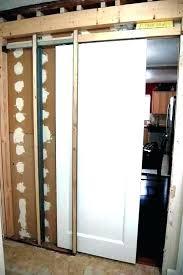 removing pocket door sliding