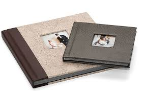 Pacific Flush Mount Albums With Leather Leatherette Linen