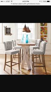 High chairs for kitchen island Wingsberthouse Upholstered High Chairs For Kitchen Island Pinterest Upholstered High Chairs For Kitchen Island 354 Main Street Bar