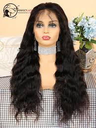 Pre Plucked With Baby Hair Loose Wave Brazilian Virgin Lace Front Wigs