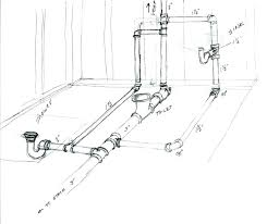 how to vent a bathroom sink drain basement bath rough in diagram bathroom sink slow drain