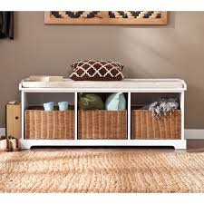 Harper Blvd Lima White Entryway Storage Bench - Free Shipping Today -  Overstock.com - 16609521