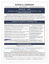 Vp Of It Resume Example Developed By Former It Manager Recruiter