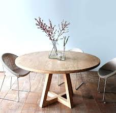 sophisticated side table 30 inch round pedestal in dining dining room astounding tables new reclaimed wood
