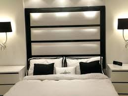 pretty inspiration wall mounted headboards for beds tall headboard king home decor upholstered splendid design he