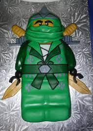 Homemade] Fondant Lego Ninjago Birthday Cake : food