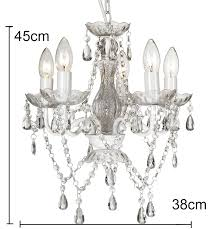 Marie Therese Ceiling Chandelier Light Buy Marie Kronleuchteracryl Decke Kronleuchter5 Licht Gypsy Kronleuchter Product On Alibabacom