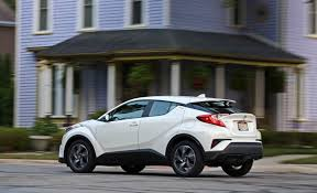 2018 Toyota C-HR Review | Cargo Space And Storage  M
