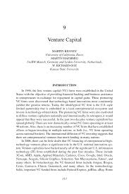 venture capital innovation in global industries u s firms page 313