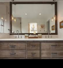 rustic double sink bathroom vanities. Rustic Modern 60 Inch Vanity For Elegant Bathroom Ideas With Small Lighting Bulbs And Wooden Framed Mirrors. Sinks: Vanities Double Sink A