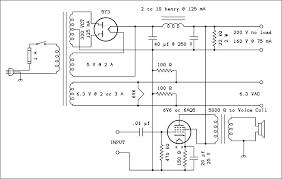 fun tubes 8 simple power supplies schematic diagram